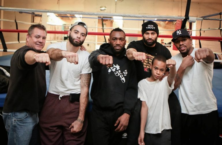 Austin Trout and Team Trout