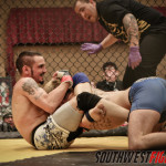 Ozzy Chavez blitzed Joey Trevino early, Trevino survived and got the submission.
