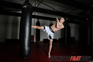 Jerome Rivera of Santa Fe, NM is this year's 2013 SWFight.com Amateur Fighter of the Year