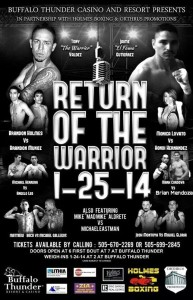 Return of the Warrior Final Poster