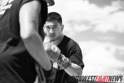 Brian Mendoza boxing New Mexico