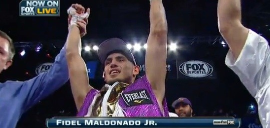 Fidel Maldonado Monday Night Boxing