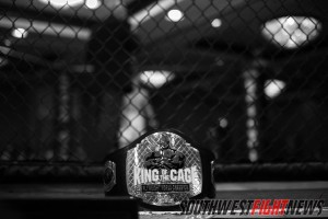 King of the Cage has been the platform for many up-and-coming fighters, and the title has been wrapped around the waste of some of New Mexico's best fighters.  Photo Credit: Will Fox / The Fox Identity