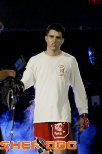 Only in his very young 20's, Carlos Condit entered the star-studded Rumble on the Rock Tournament as a relative unknown. That would change when he blitzed through top MMA talent.  Photo Credit: Sherdog / sherdog.com
