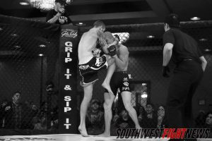"""""""Rock'em Sock'em"""" John Rozema (1-0) will be back inside the cage in April inside the Las Cruces Convention Center. Judgement MMA's Rozema will look to remain undefeated in his professional MMA career."""