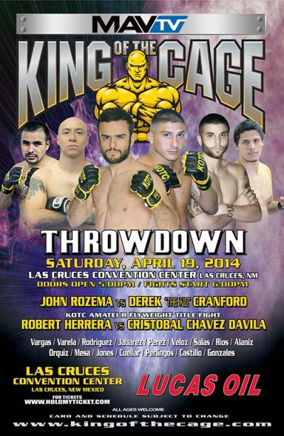 "King of the Cage ""Throwdown"""