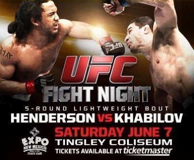 UFC Albuquerque June 7th