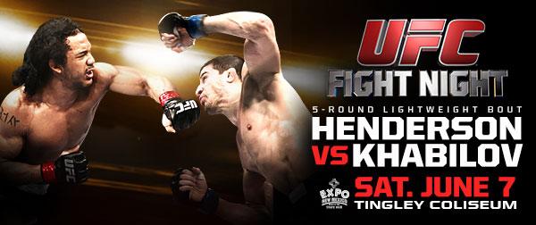 UFC Albuquerque Poster