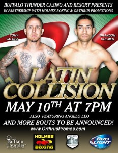Latin Collision May 10th Poster