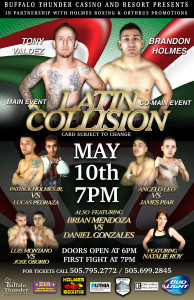 Latin Collision at Buffalo Thunder May 10th