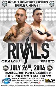 Conrad Padilla vs. Isaiah Reyes