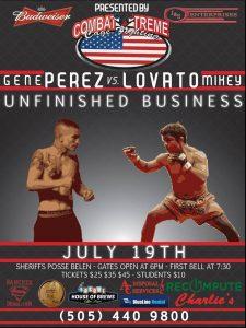 "Unfinished Business ""Lovato vs. Perez"""