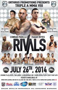 Conrad Padilla vs Isaiah Reyes
