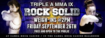 Rock Solid Weigh-Ins