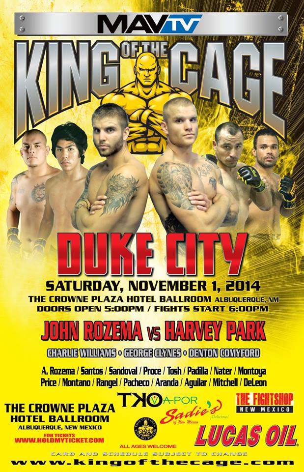 "King of the Cage ""Duke City"""