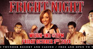 Fright Night Boxing