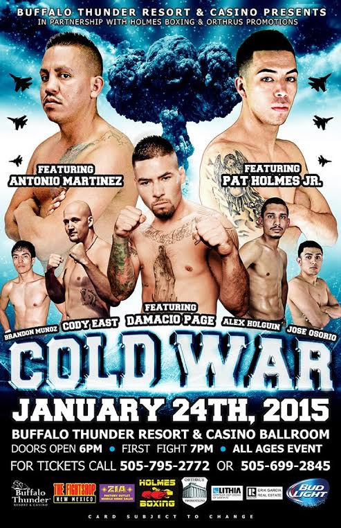 Holmes Boxing- Cold War