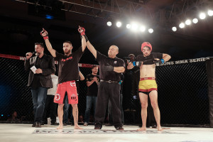 After a close three round battle, Nick Urso picked up the unanimous decision victory over a tough Josh Montoya.