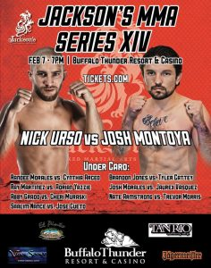 Nick Urso vs. Josh Montoya