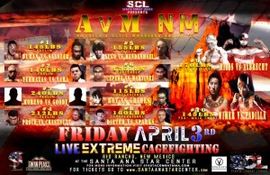 Sparta Combat League April 3rd lineup