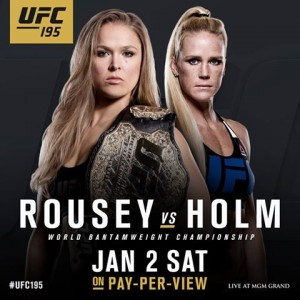 Ronda Rousey vs Holly Holm