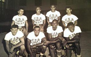 Bob Foster 1959 Pan American team