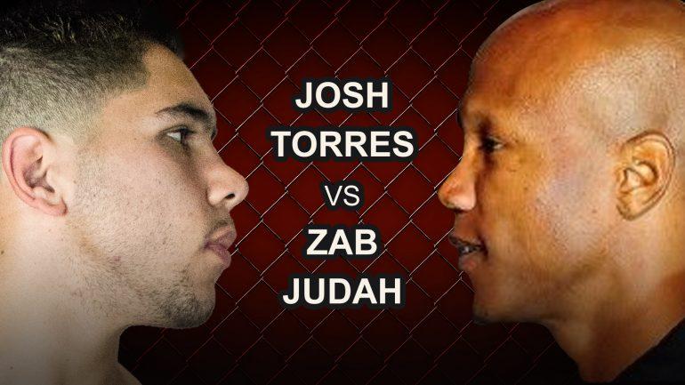 Josh Torres vs Zab Judah