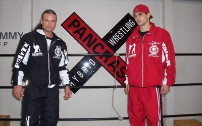 Carlos Condit and Tom Vaughn