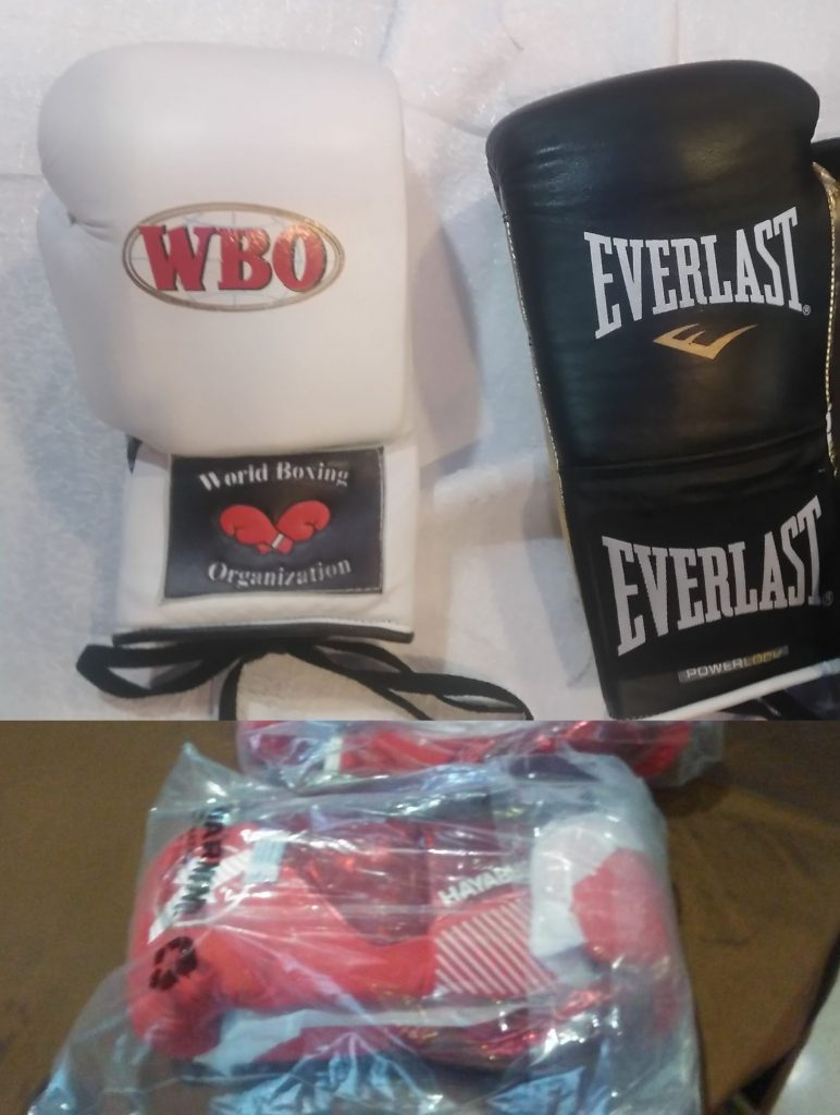 Jason Sanchez vs Jean Carlos Rivera gloves