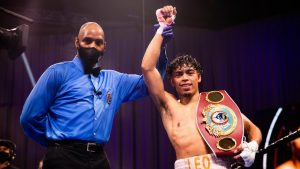 Angeo Leo Jr. Featherweight Champion