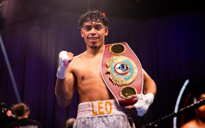 Angelo Leo WBO Champion