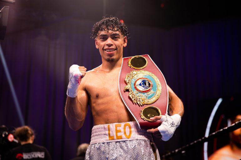 Angelo Leo WBO Champion